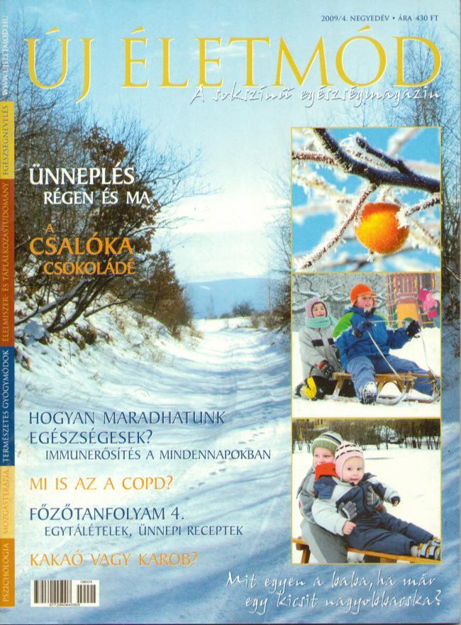 Új Életmód magazin 2009/4.