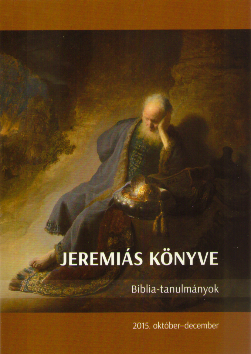 Jeremiás könyve 2015/04.