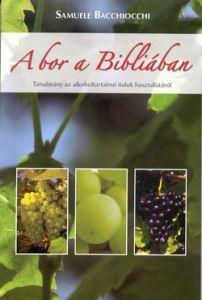 A bor a Bibliában